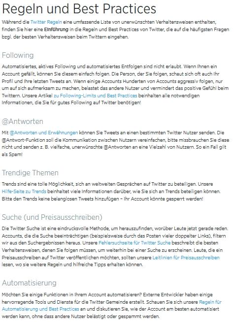 Twitter_Regeln