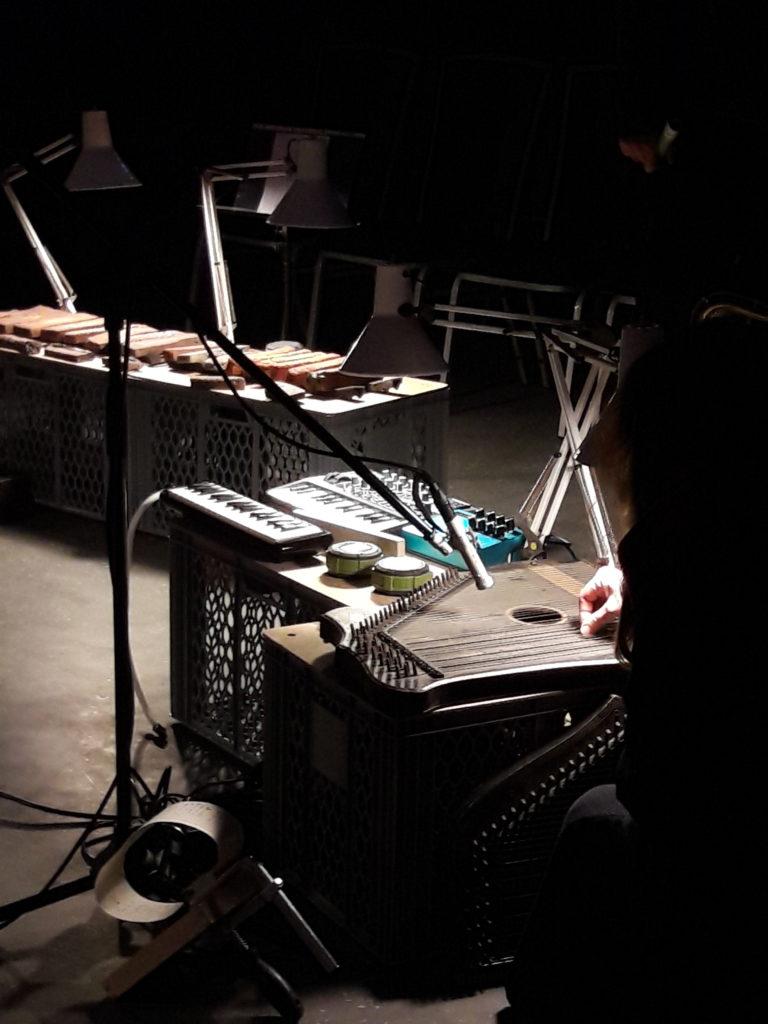 Zither, Keyboard, Lochkarte