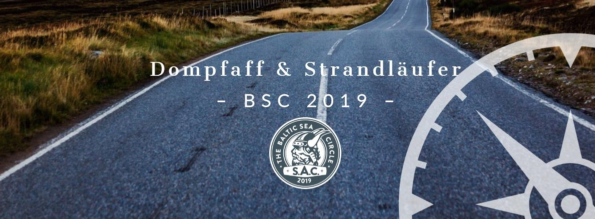 BSC 2019, Team Dompfaff und Strandläufer, Baltic Sea Circle 2019