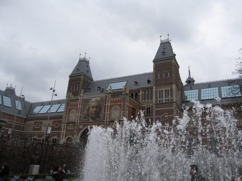 Garten des Rijksmuseum, Amsterdam