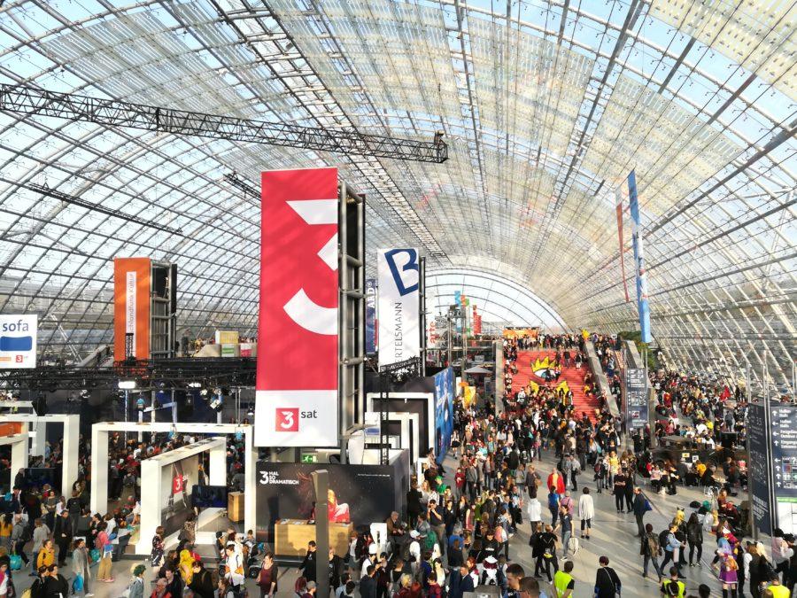 Glashalle, Leipziger Buchmesse 2019
