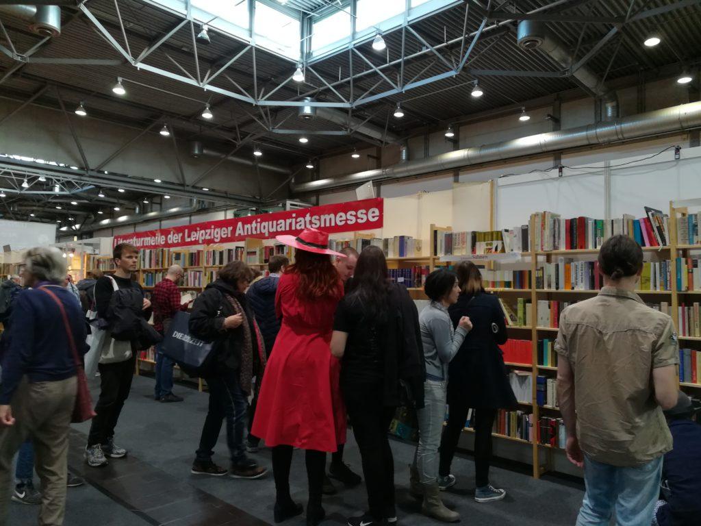 Antiquariatsmesse, Leipziger Buchmesse.