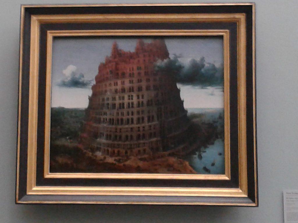 Turm von Babel, Breugel Museum Boijmans, Rotterdam