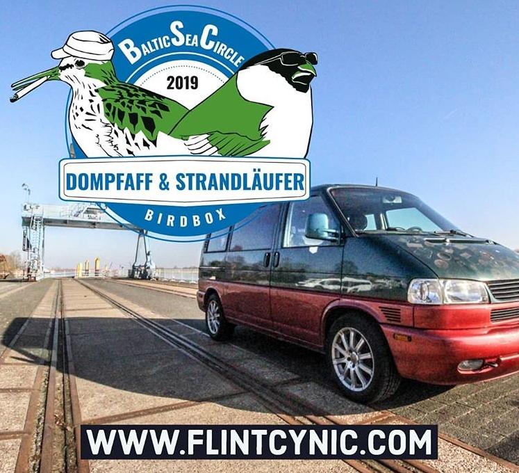 Birdbox, Bully, Van, Flintcynic.com, Baltic Sea Circle 2019, Team Dompfaff und Strandläufer