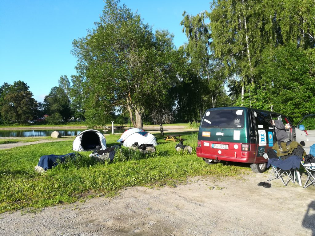 Schweden ,Baltic Sea Circle 2019, camping