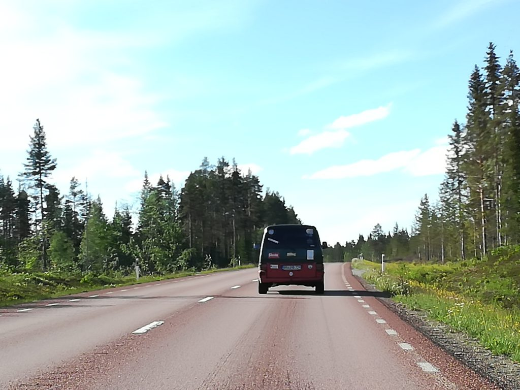 Birdbox, Van, T4, Schweden, Baltic Sea Circle 2019