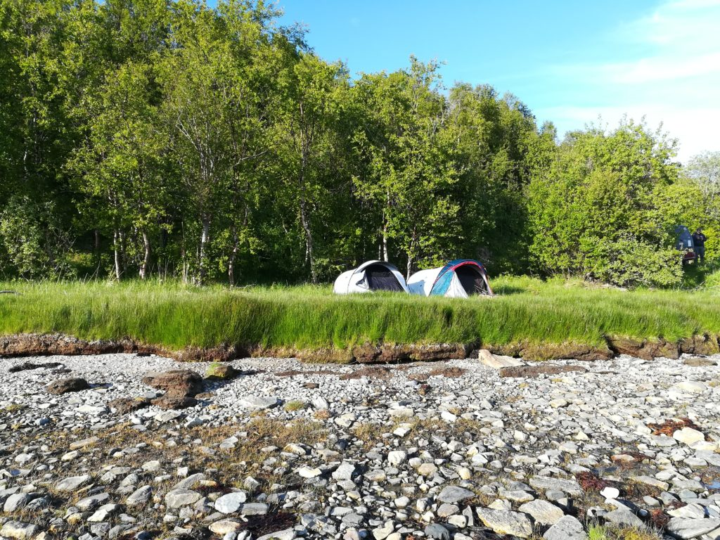 Camping, Baltic Sea Circle 2019, Fjord, Norwegen