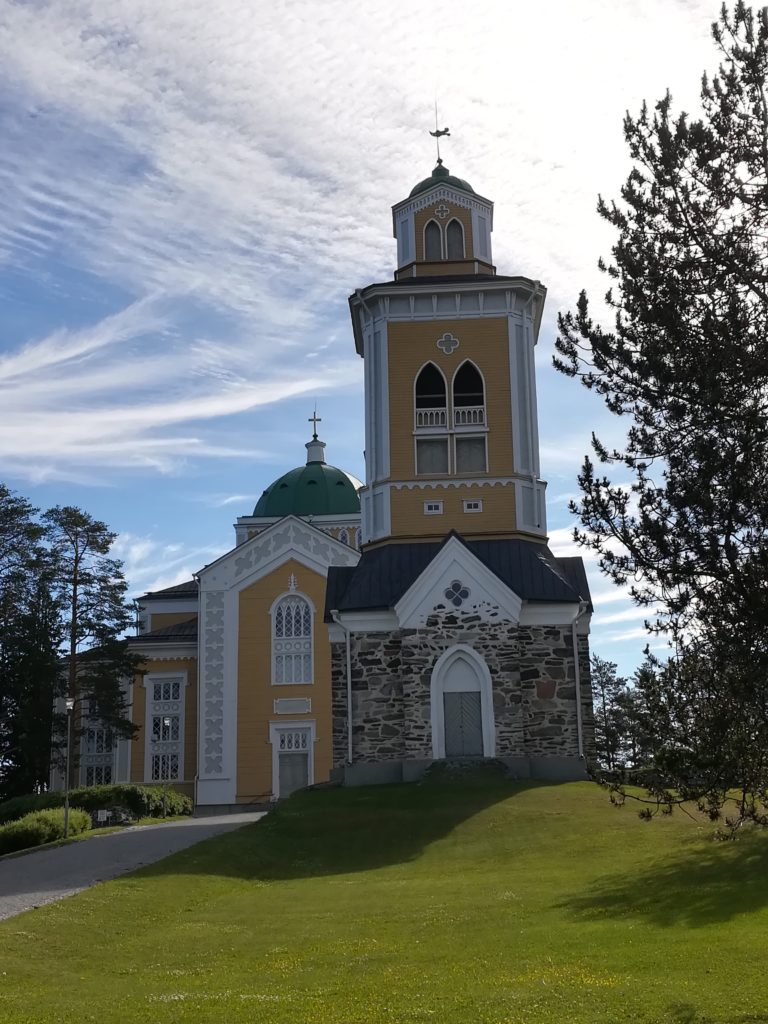 Baltic Sea Circle 2019, Finnland, Holzkirche