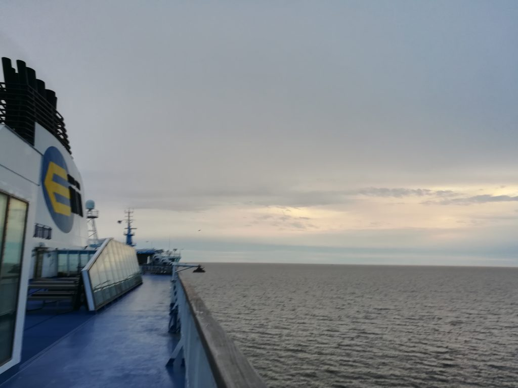 Baltic Sea Circle 2019, Fähre nach Tallinn