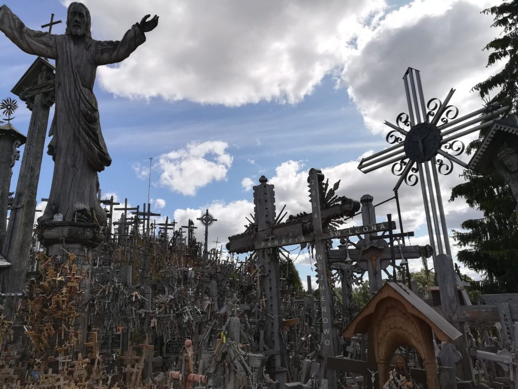 Baltic Sea Circle 2019, Hill of crosses, Litauen