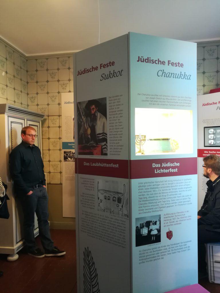 Informationen zum jüdischen Leben.