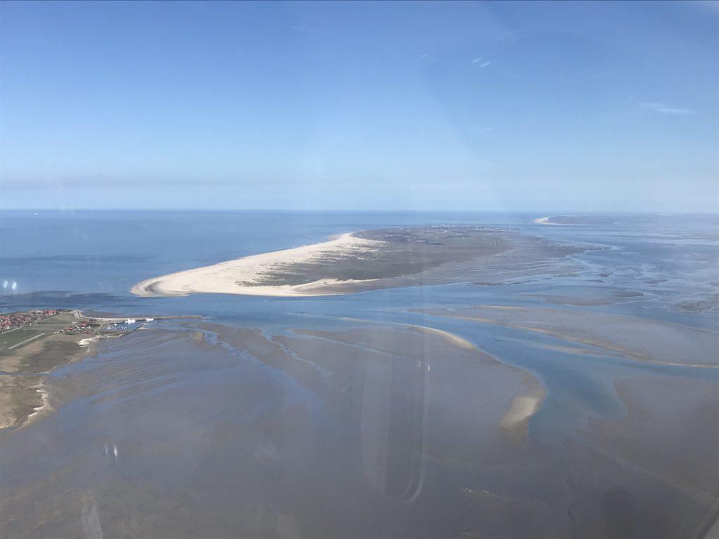 Wattenmeer von oben