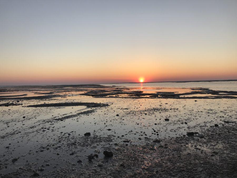 Sonnenuntergang Watt