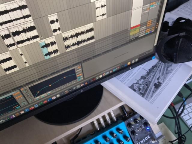 Im Klangstudio